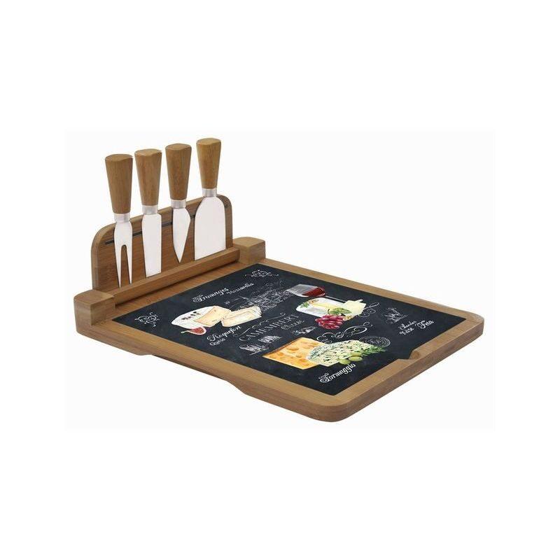 Deska do serów z nożami