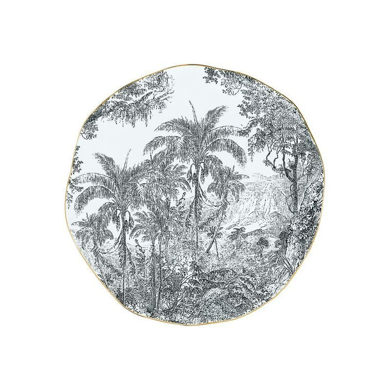 Porcelanowy talerz
