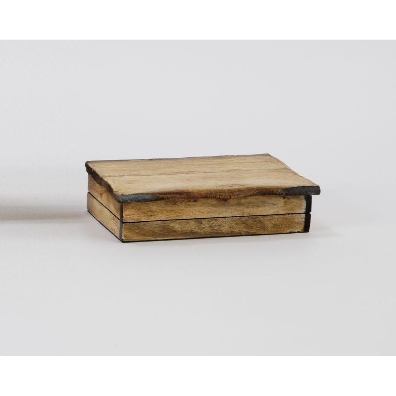 Pudełko drewniane na drobiazgi