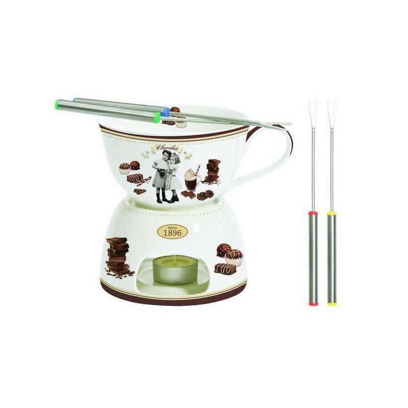 Zestw fondue do czekolady